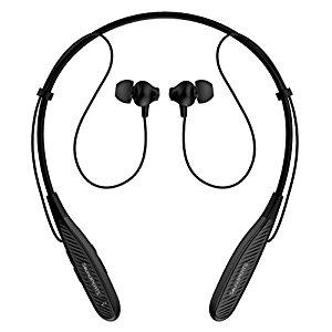 SoundPEATS Q1000 Neckband Sports Sweatproof Bluetooth 4.1 earphone with Mic, CSR 8645 + aptX, magnetic EZ-Lock, 5 Hrs Playtime @ $9.39