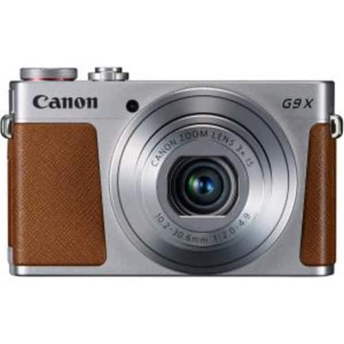 Canon Powershot G9 X 20.2MP FHD Camera, 3X Optical Zoom (Sliver) + PSN-200 Neck Strap @ $300 + F/S $299.99