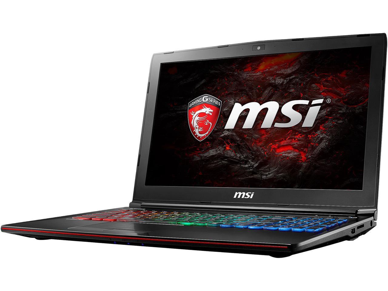 MSI GE62MVR Apache Pro-041: 15.6'' FHD IPS, i7-7700HQ, 16GB DDR4. 128GB SSD, 1TB HDD, GTX 1070, Type-C, Win10H @ $1299 AR + F/S $1299