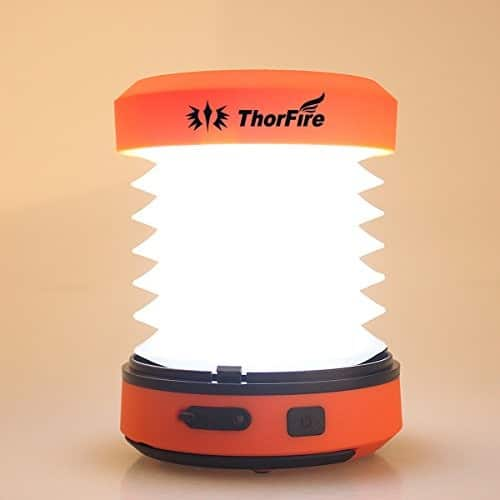 ThorFire Hand Crank & USB Rechargeable LED Camping Lantern CL01 @ $12 $11.99