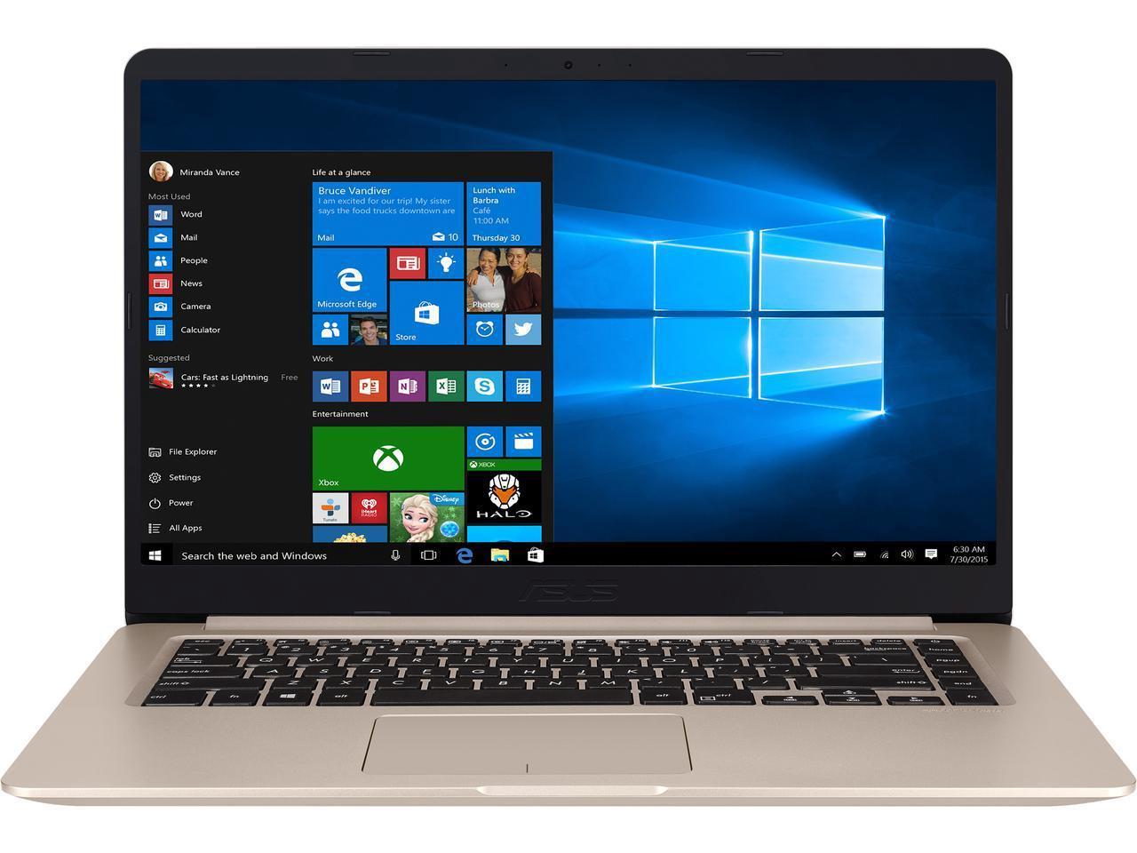 Asus VivoBook S510: 15.6'' FHD IPS, i7-8550U, 8GB DDR4, MX150, 256GB SSD, 1TB HDD, Type-C, WIn10H @ $860 + F/S
