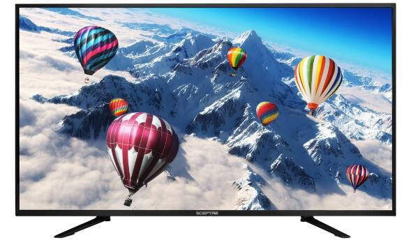 Sceptre U550CV-UMC 55'' 4K LED HDTV @ 299.99 with free shipping