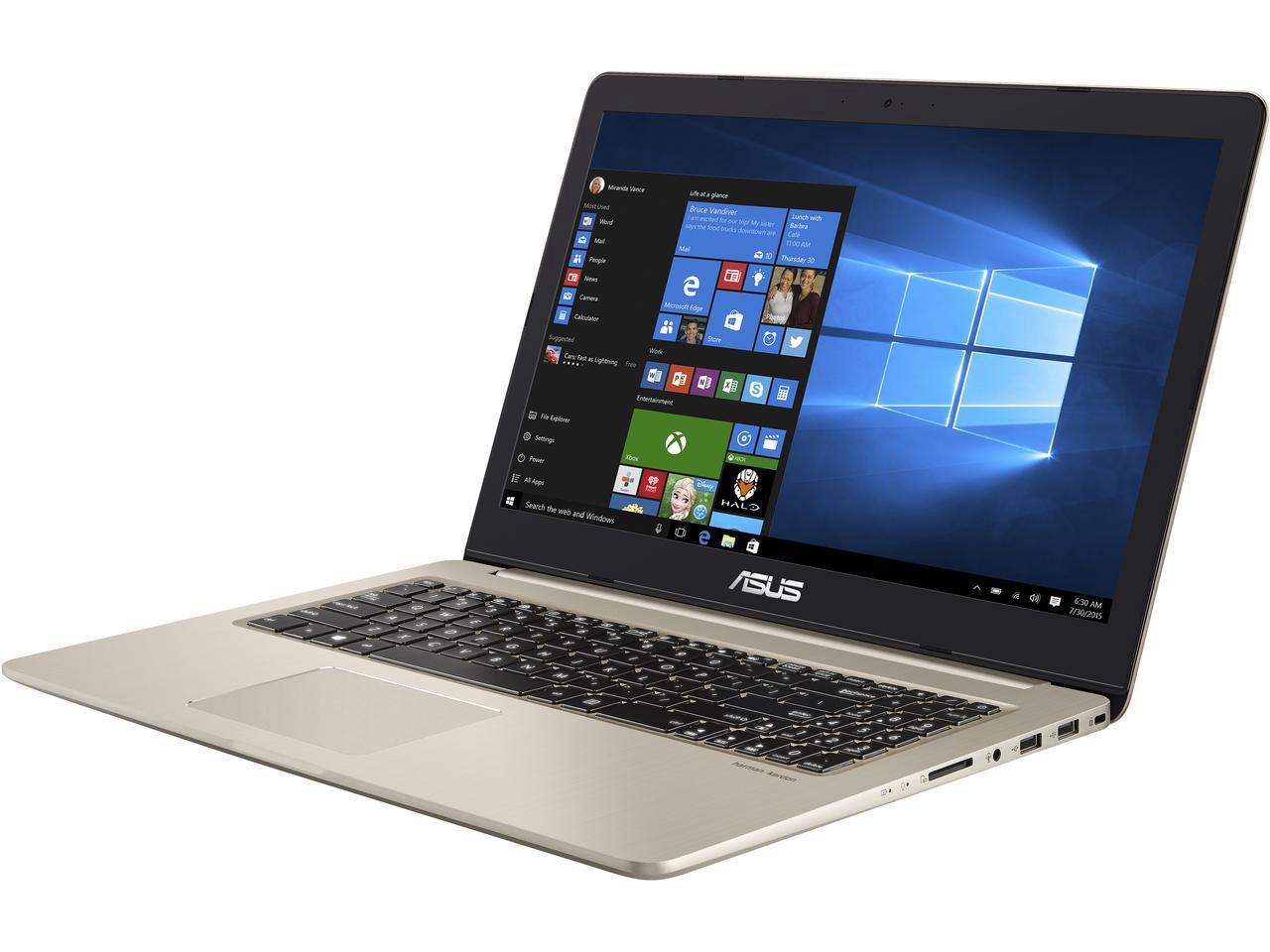 Asus Vivobook M580VD Thin & Light laptop: 15.6'' FHD IPS, i7-7700HQ, 16GB DDR4, GTX 1050 4GB, 256GB SSD, 1TB HDD @ $979 + F/S