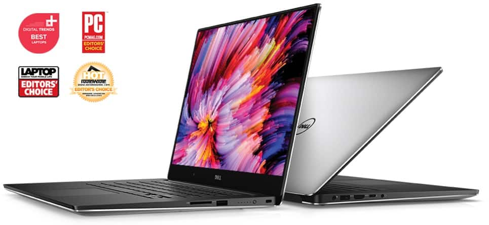 Dell XPS 15: 1080P IPS, i7-7700HQ, 16GB DDR4, 512GB PCIe SSD, GTX 1050, Thunderbolt 3 @ $1206 + F/S