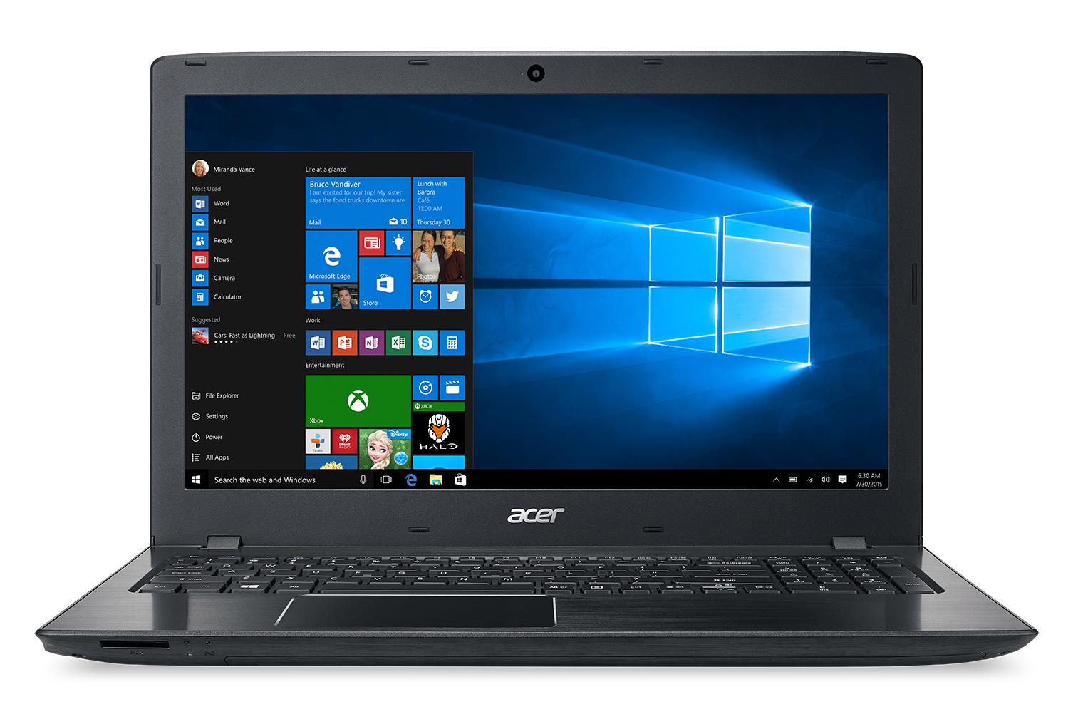Acer Aspire E5-575-72N3: 15.6'' FHD, i7-7500U, 8GB DDR4, 1TB HDD, Type-C, Win10H @ $459 + F/S at Walmart