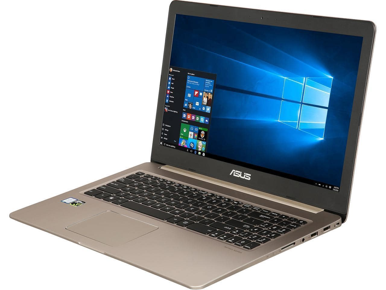ASUS VivoBook M580VD-EB54 Ultrathin Laptop: 15.6'' FHD, i5-7300HQ, 8GB DDR4, 256GB SSD, GTX 1050 2GB, WIn10H @ $639 AR + F/S