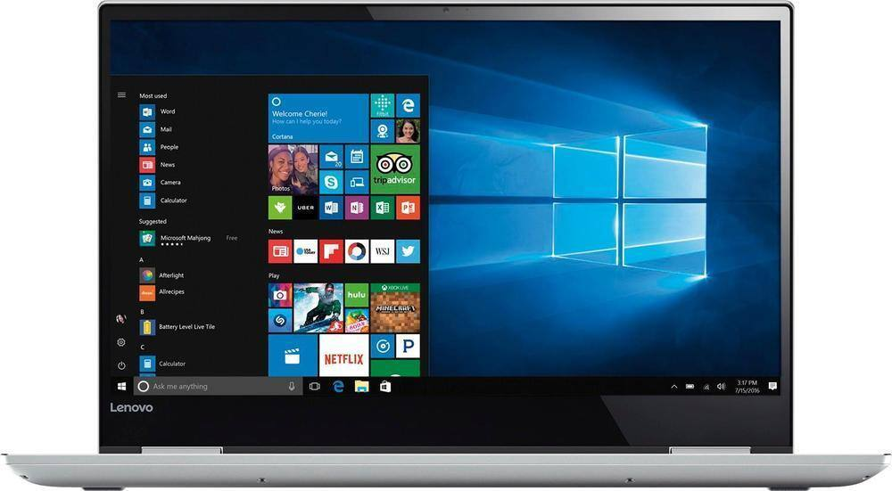 Open Box (Full warranty) Lenovo Yoga 720 15 2-in-1: 15.6'' 4K IPS Touch, 16GB DDR4, 512GB PCIe SSD, GTX 1050 2GB, Thunderbolt 3, Win10H @ $1020 + F/S