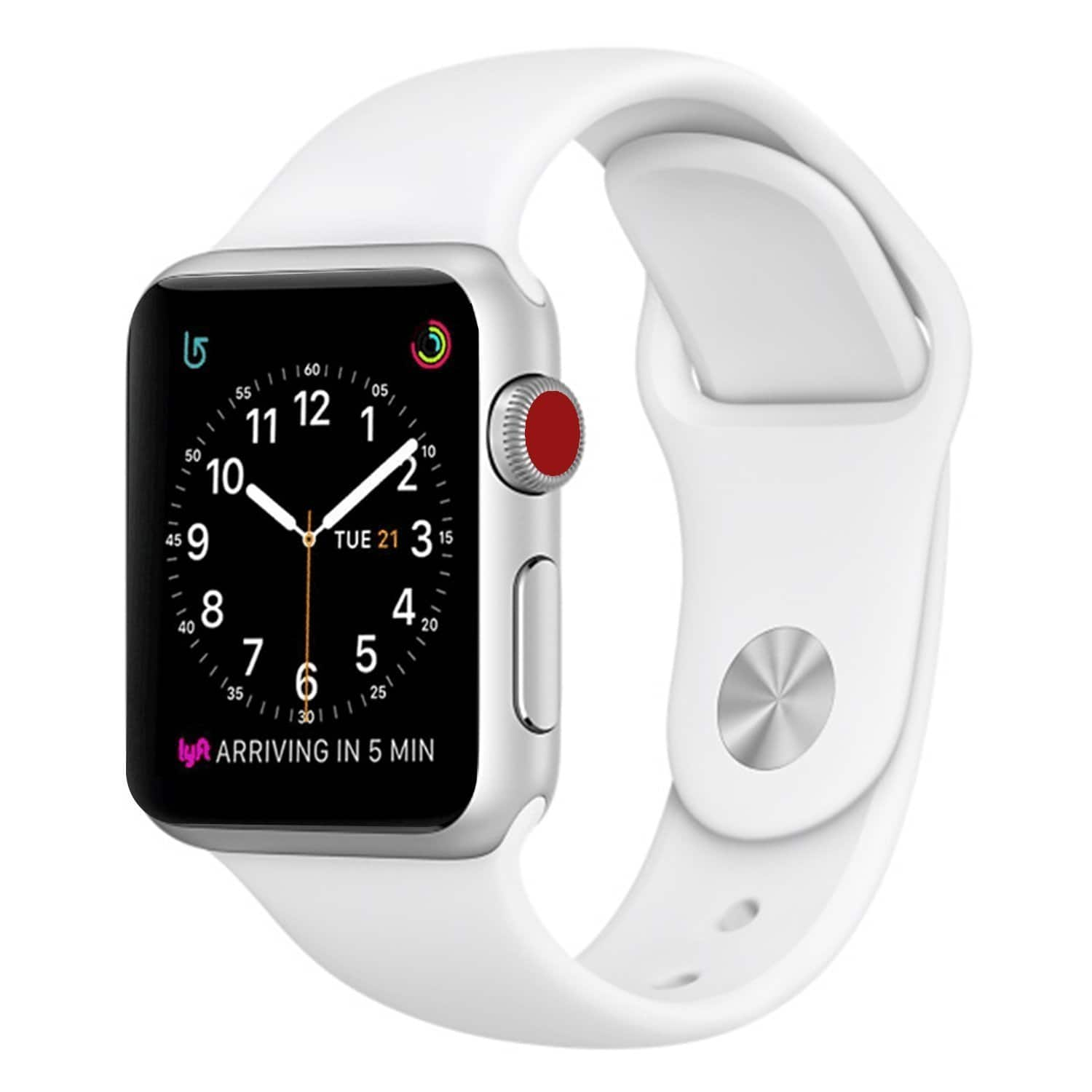 Apple Watch bands 38mm to 42mm (Various colors) from $4.98 + F/S with prime
