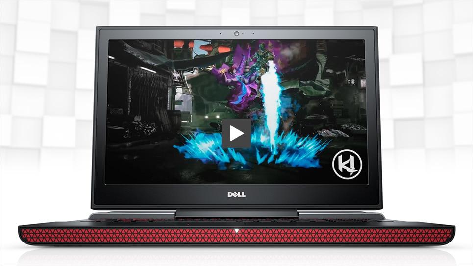 Dell Inspiron 15 7000 Gaming: 15.6'' FHD IPS, i5-7300HQ, 8GB DDR4, 256GB SSD, GTX 1050 ti 4GB, Win10H @ $650 + F/S