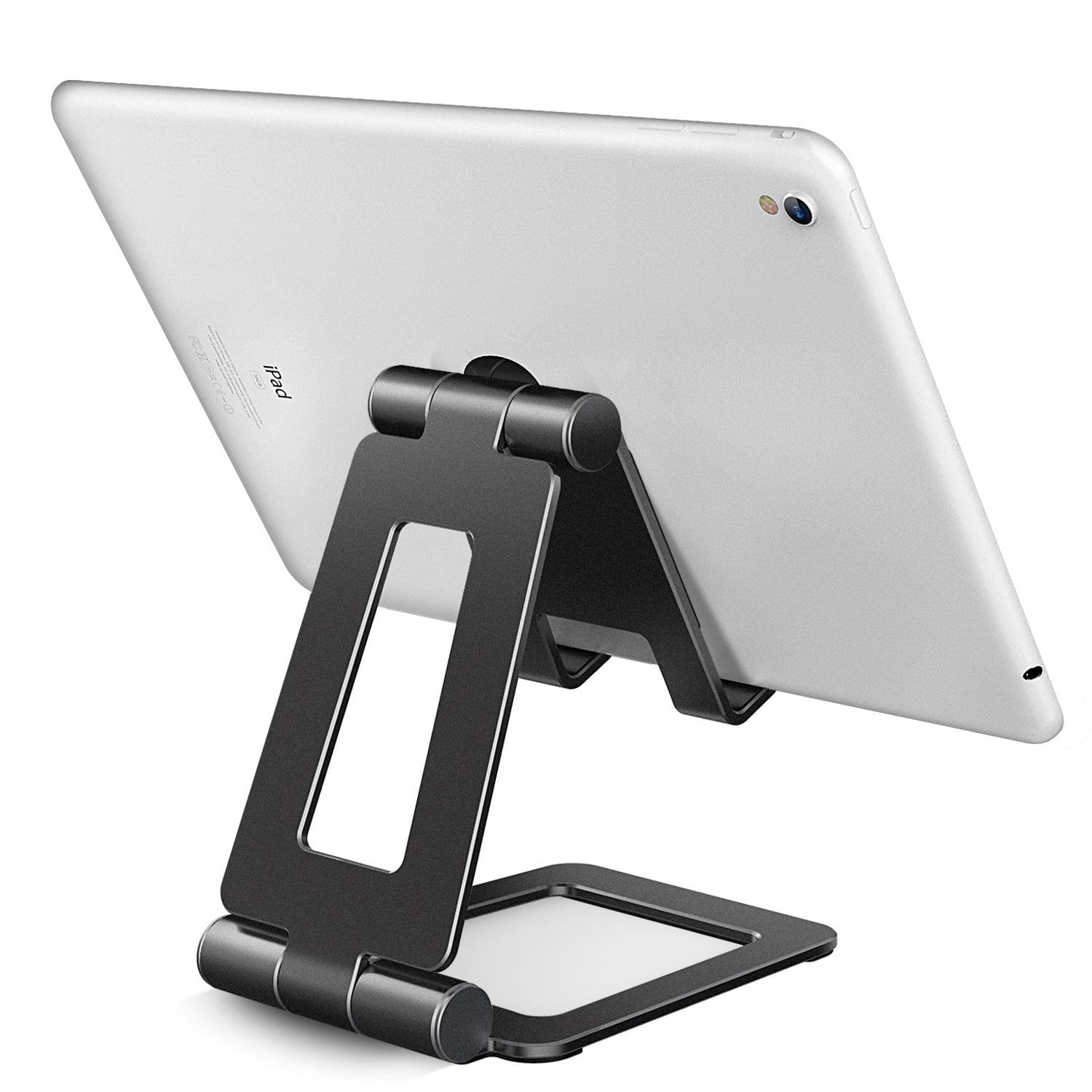 Adjustable and Dual Metal Fordable (270 degree) Stand / Holder for Tablet, Phone(4''-13'') various color from $7.99