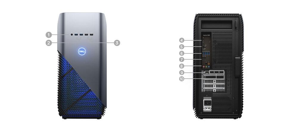 Dell Inspiron 7000 Gaming Desktop: i5-8400, 8GB DDR4, 1TB