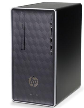 HP Pavilion 590-p0045xt: i7-8700, 8GB DDR4, 1TB HDD, DVD-RW