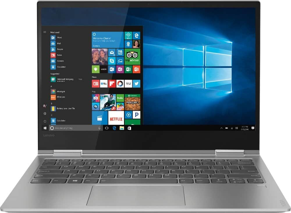 Lenovo Yoga 730 2-in-1: 13.3'' FHD IPS Touch, i5-8250U, 8GB DDR4, 256GB PCIe SSD, Thunderbolt 3, Win10H @ $630 + F/S
