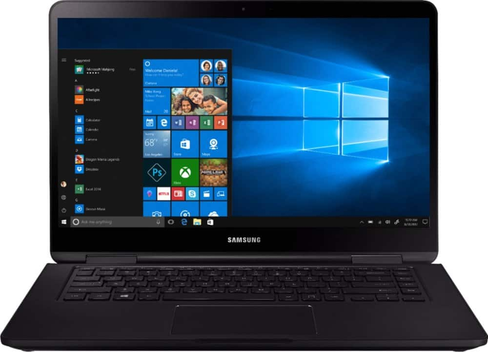 Samsung Notebook 7 Spin 2-in-1: 15.6'' FHD IPS Touch, Ryzen 5 3500U, 8GB DDR4, 256GB PCIe SSD, Win10H @ $600 with Student Discount + F/S