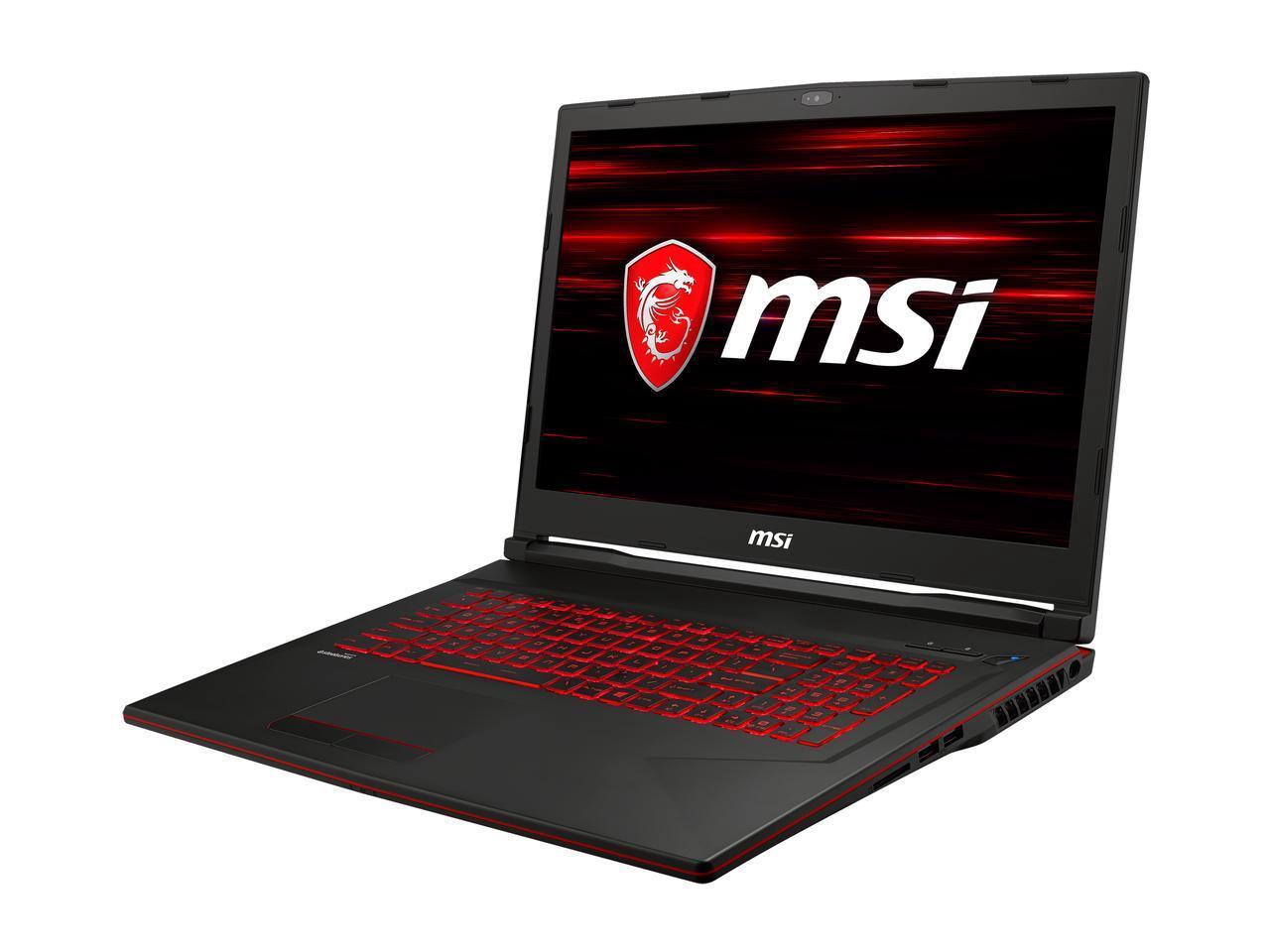 MSI GL73 8SE-010 Gaming Laptop: 17.3'' FHD 120 Hz, i7-8750H, 16GB DDR4, 128GB PCIe SSD, 1TB HDD, RTX 2060, WIn10H @ $1199 AR + F/S
