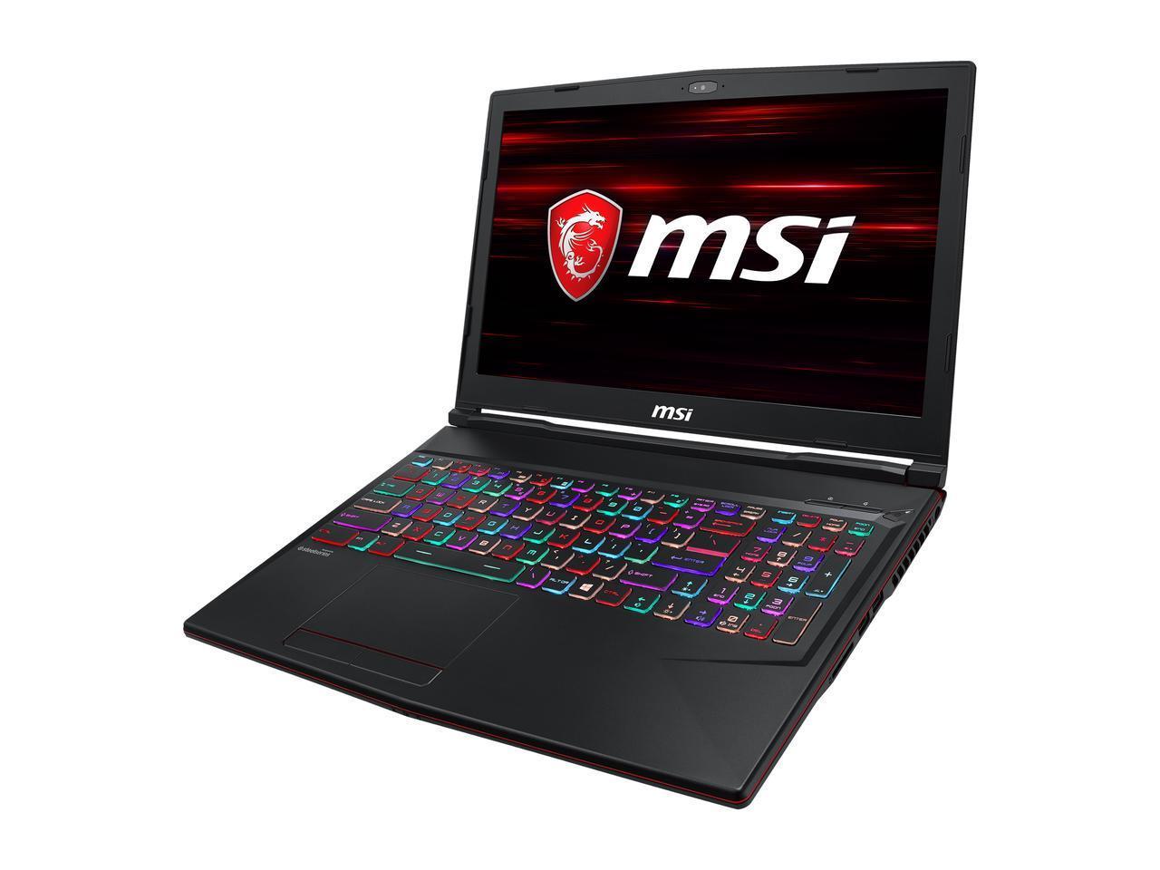MSI GL63 8SEK-684 Gaming Laptop: i7-8750H, 15..6'' FHD IPS 120 Hz, 16GB DDR4, 512GB PCIe SSD, GTX 2060, Win10H @ $1099 AR + F/S