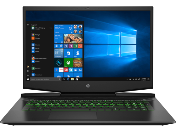 HP Pavilion 17 Gaming: 17.3'' FHD IPS, i5-9300H, 8GB DDR4, 256GB PCIe SSD, GTX 1050 3GB, Win10H @ $570 + F/S