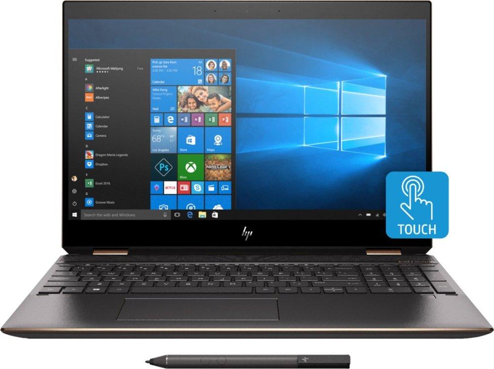 HP Spectre x360 15.6'' 4K OLED Touch, i7-9750H, 16GB DDR4, 512GB PCIe SSD + 32GB Optane, GTX 1650, Win10H, Stylus @ $1332 + F/S