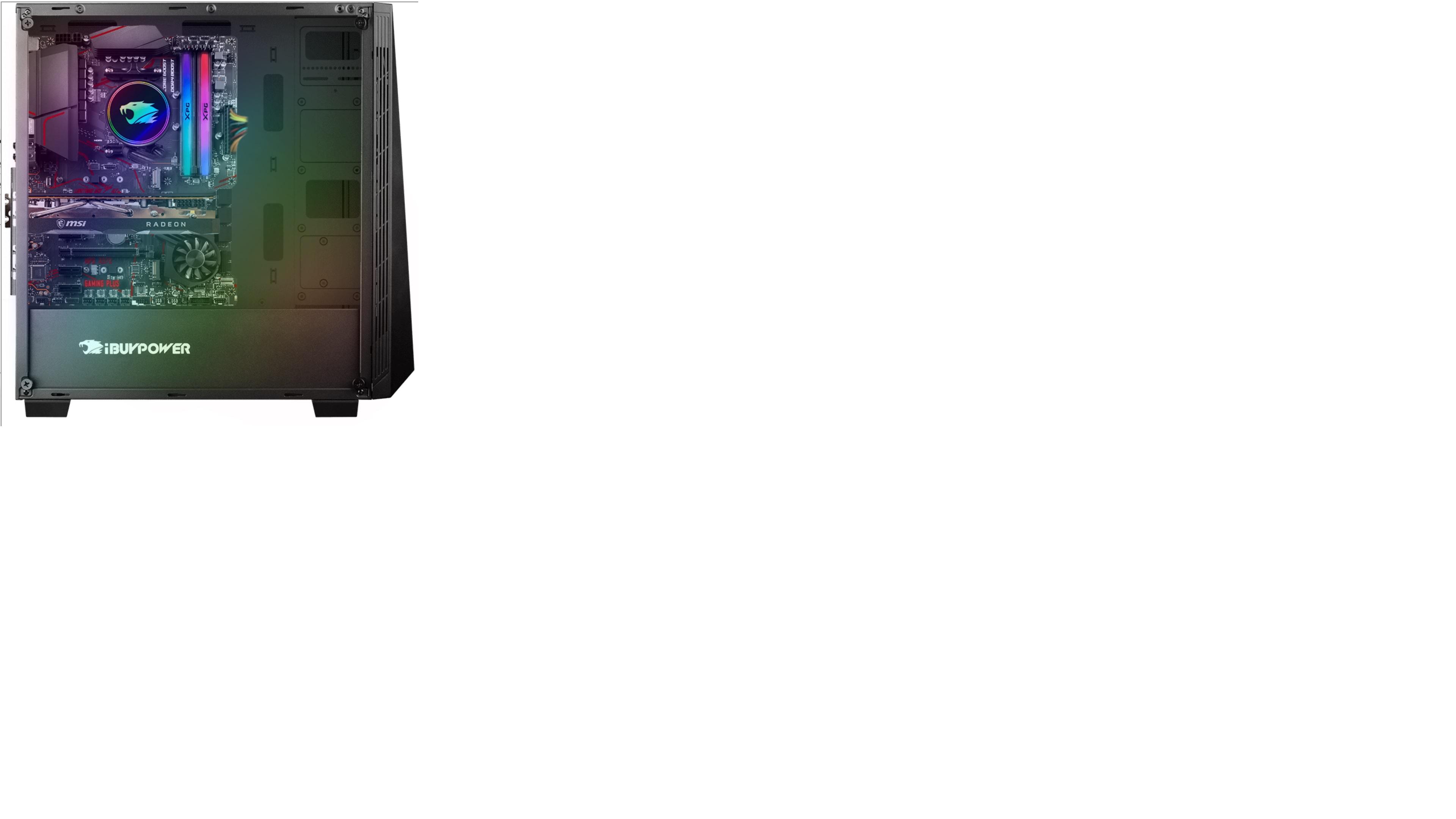 iBuypower Ryzen 3rd Gen: Ryzen 7 3700X, 240mm Liquid Cooler, 16GB DDR4 3200, 1TB SSD, RX 5700XT, 600W PSU, Win10H @ $1169.45, no-OS $1112.45 + F/S