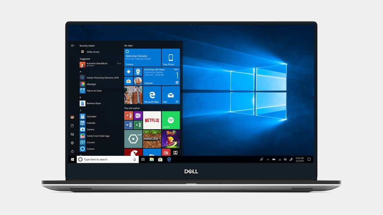 Dell XPS 15 7590: 15.6'' 4K IPS Touch, i7-9750H, 16GB DDR4, 256GB PCIe SSD, GTX 1650, Thunderbolt 3, WIn10H @ $1399 + F/S
