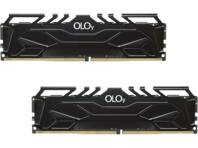 OLOY 32GB (2x16GB) DDR4 3600 CL18 Desktop memory @ $118 + F/S
