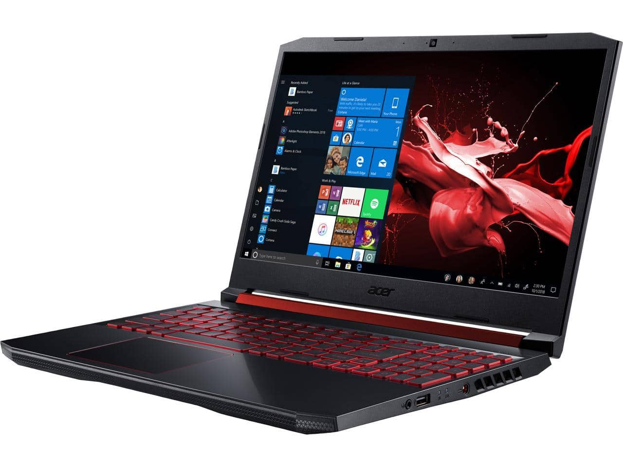 Acer Nitro 5: 15.6'' FHD IPS 144 Hz, i5-9300H, 16GB DDR4, 256GB PCIe SSD, 1TB HDD, RTX 2060, WIn10H @ $899 + F/S
