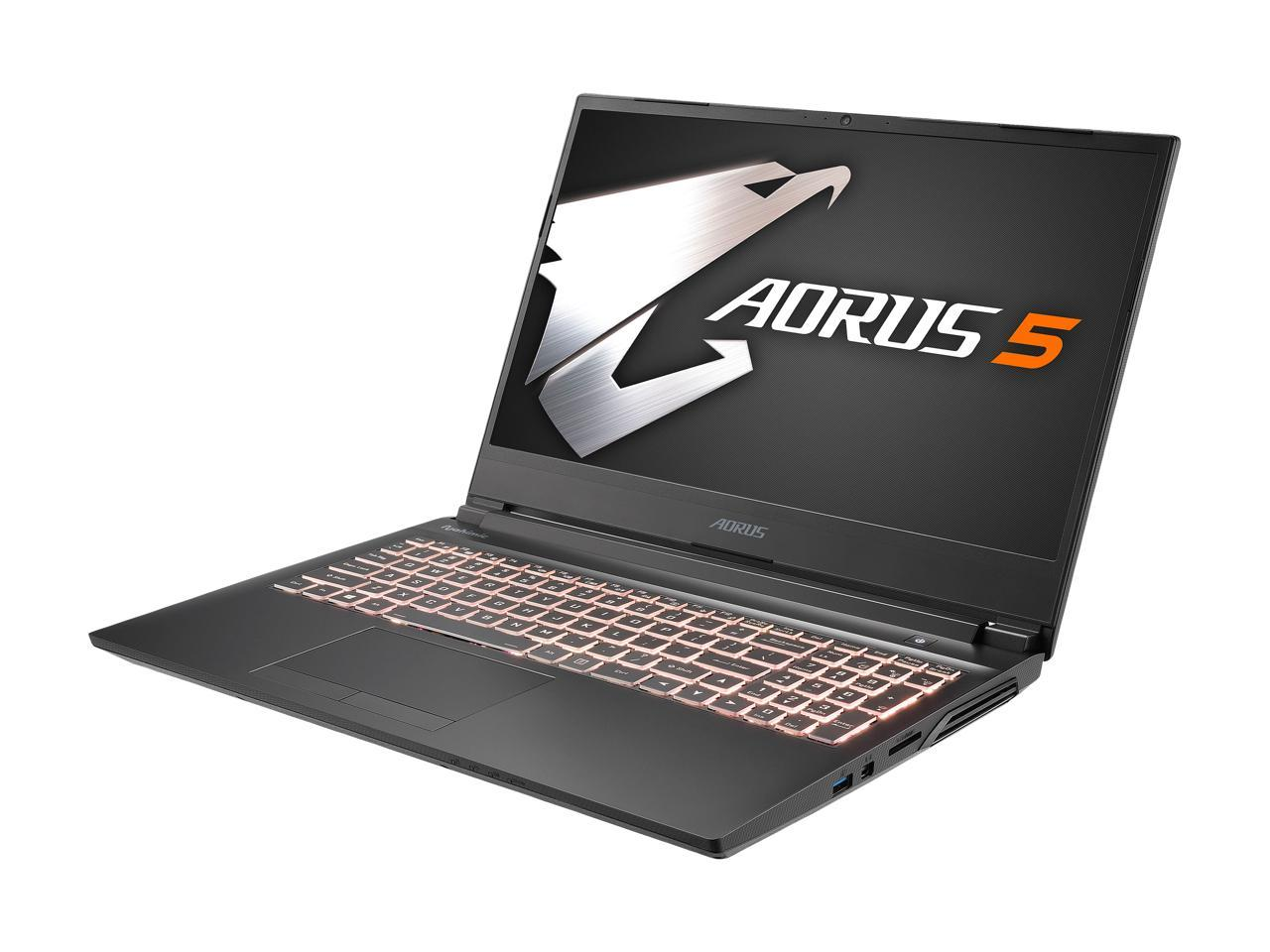 Gigabyte Aorus 5: 15.6'' 144 Hz IPS FHD, i7-10750H, 16GB DDR4, RTX 2060, 512GB PCIe SSD, Win10H + Intel Software Bundle @ $999 AR + F/S