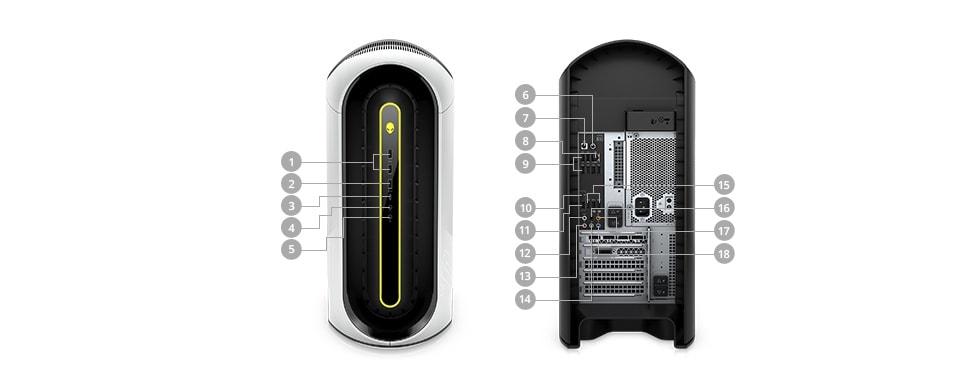 Alienware Aurora R10 Ryzen: Ryzen 5 5600X, 16GB DDR4, 1TB HDD, RX 6800 XT, Wi-Fi 6, 1000W PSU, Win10H @ $1649.33 + F/S