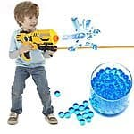 Amazon have brand: 12000Pcs Water Bullet Paintball Gun Pistol Toys Water Gun Crystal Soft Bullets $7.25 & FREE Shipping