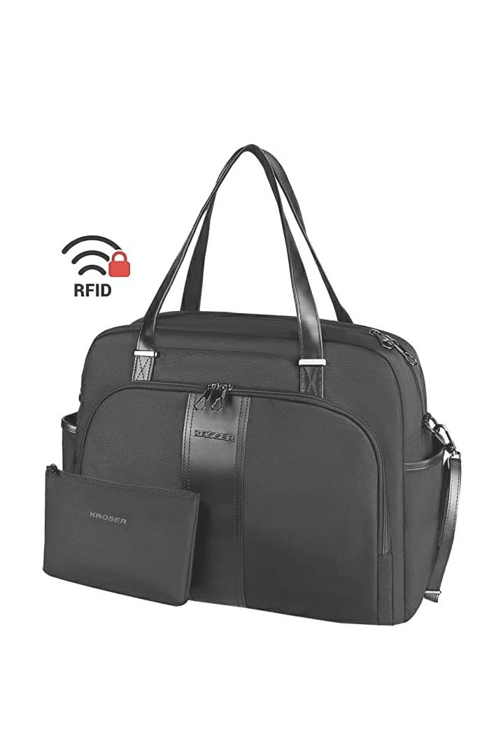 """Laptop Carrying Bag 15.6"""" Black Water Repellant $15.99"""