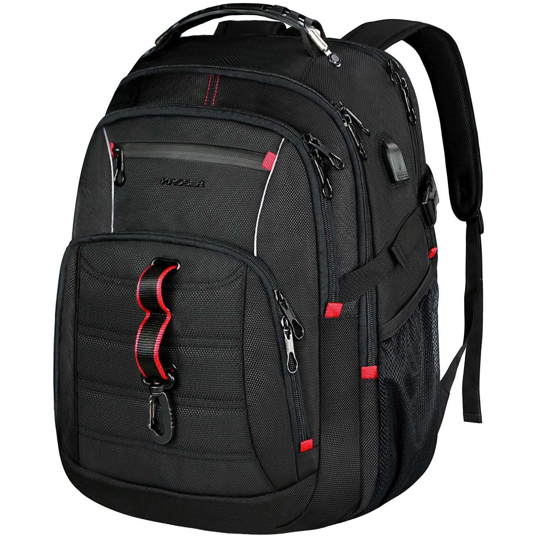 KROSER Travel Laptop Backpack 17 Inch Water Repellant Computer Backpack $20.79