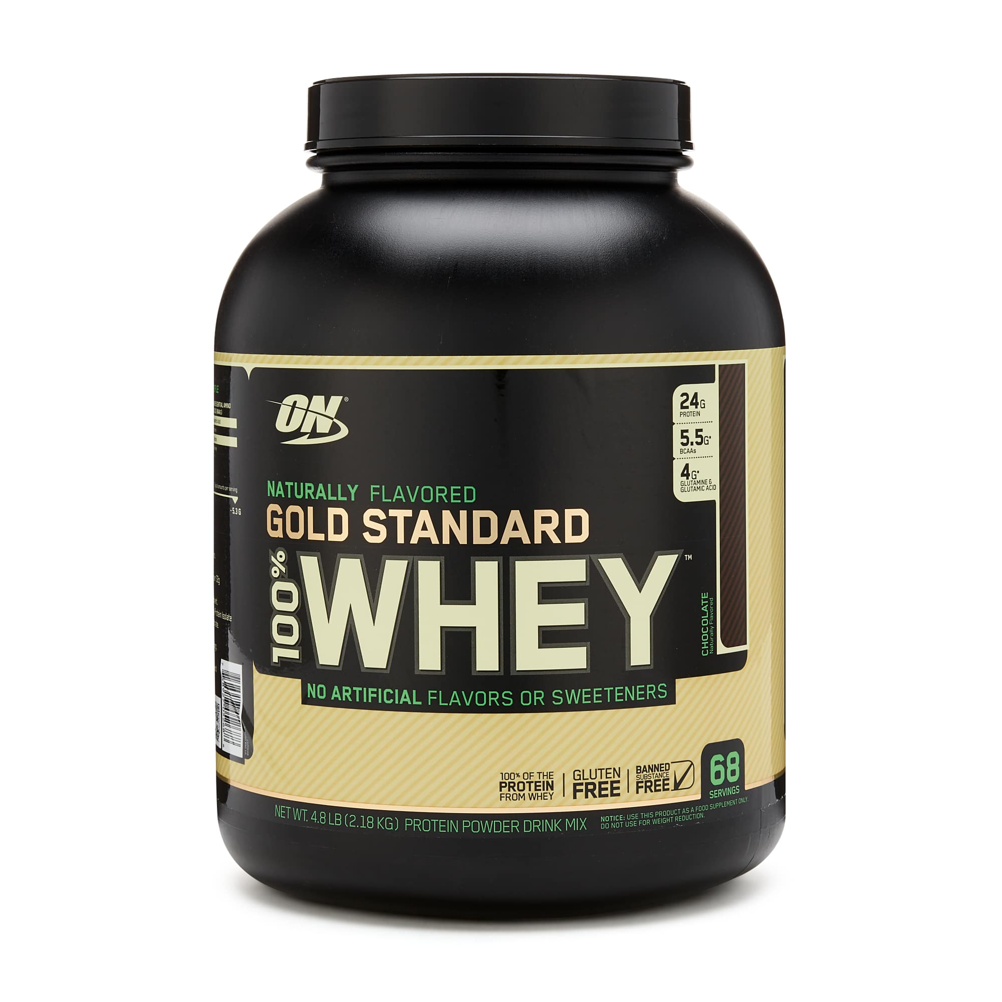 Optimum Nutrition Natural Whey Protein 4.8 lbs $42.01 with code and Amex GNC offer, free shipping