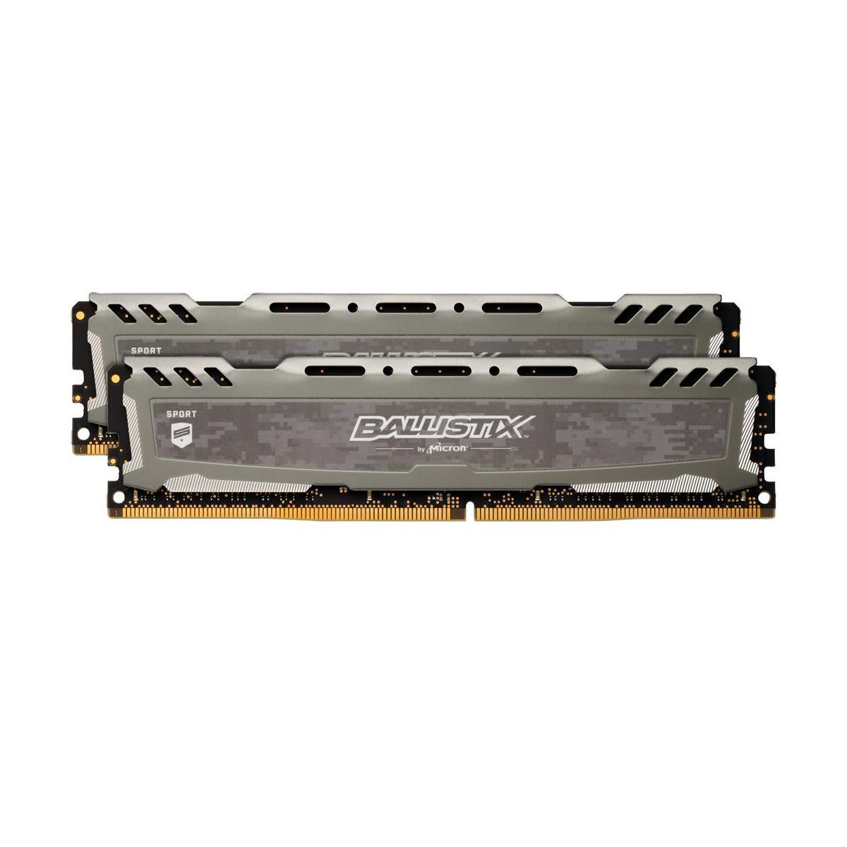 Crucial Technology 32GB (2x 16GB) 288-Pin EUDIMM DDR4 (PC4-19200) Module Kit CT2K16G4XFD824A $259.99