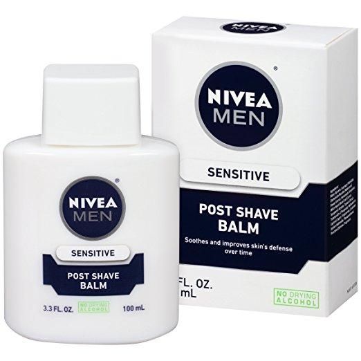 NIVEA Men Sensitive Post Shave Balm 3.3 Fluid Ounce (Pack of 3) w/ S&S Free S&H - $10.40