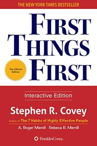 First Things First ebook Stephen R. Covey $1.99