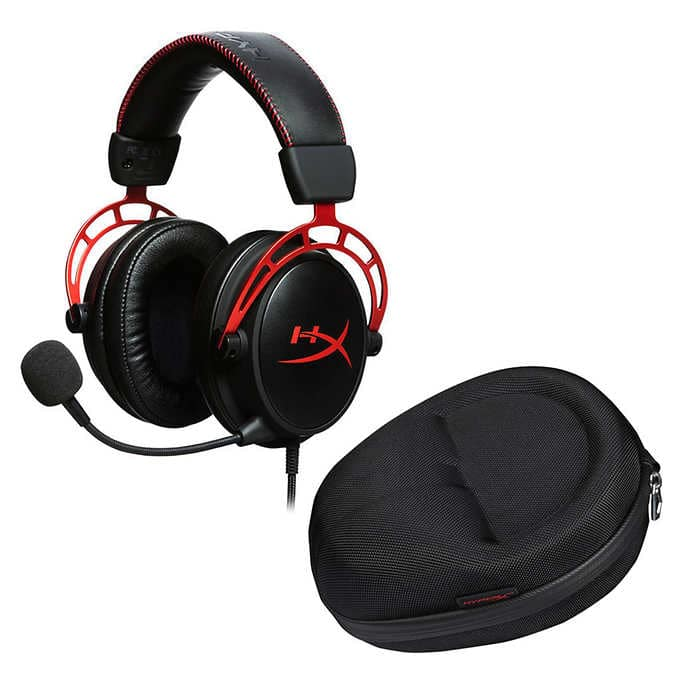 HyperX Cloud Alpha Gaming Headset with Carrying Case (Costco Membership Required) $69.99