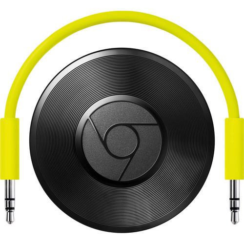 Google - Chromecast Audio - Black $25