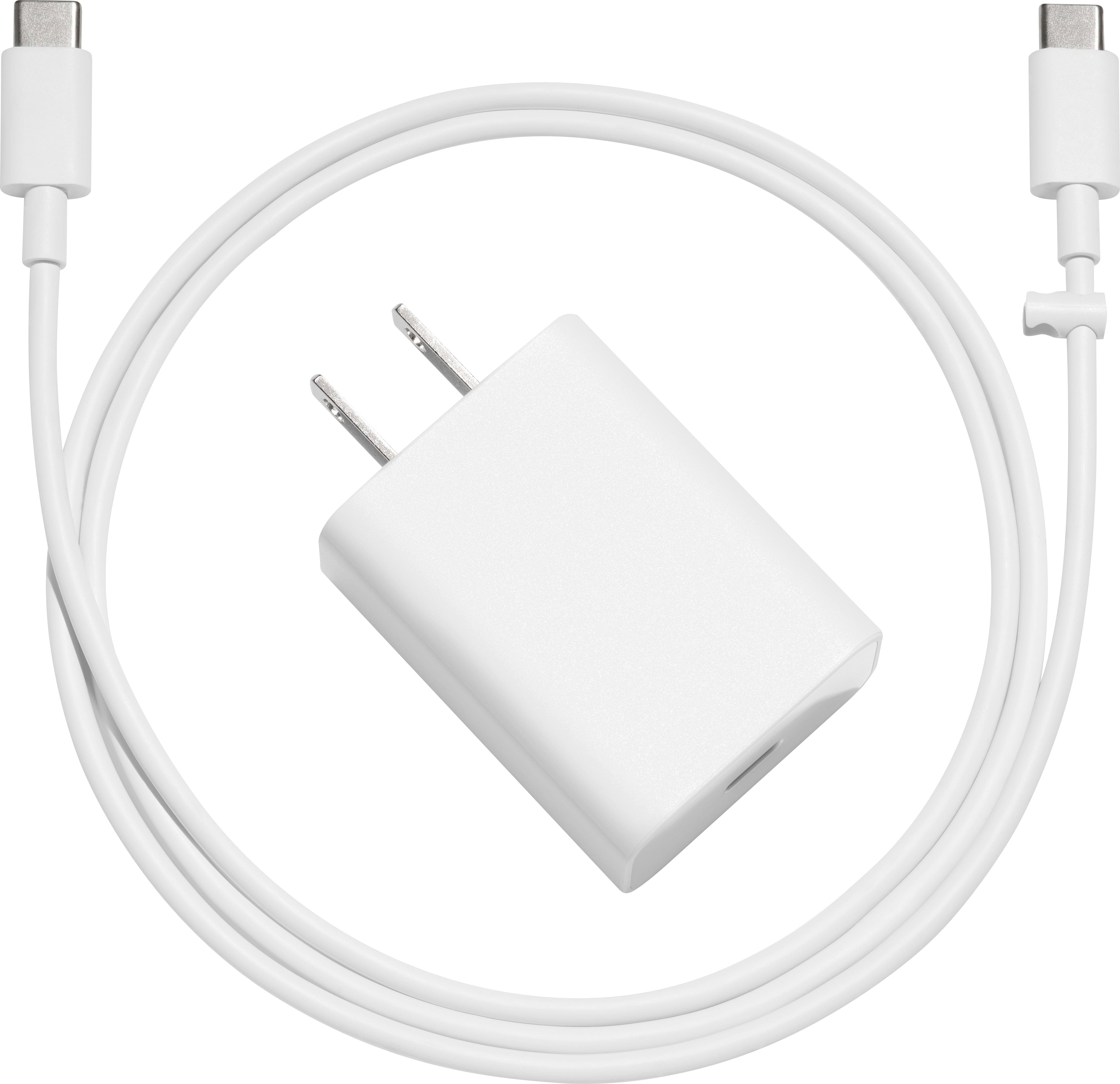 Google 18 W USB C power adapter with USB C to USB C cable $19.99