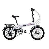 Zxmoto Bicycles 20-Inch Alloy Folding Bike Shimano 7 Speed Foldable bike dual disc brake $  228.99 @Amazon
