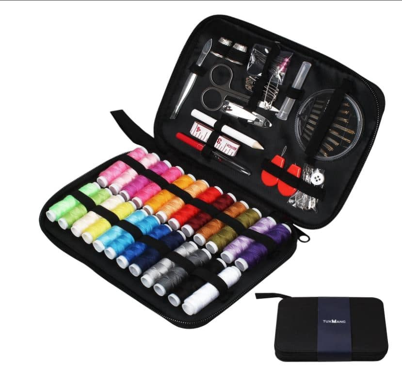 90 Piece Premium Sewing Kit $9.09 AC on Amazon