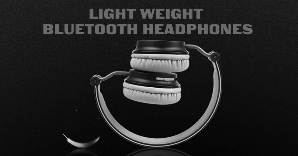 Lightweight Bluetooth Headphones for $14.99 AC on Amazon