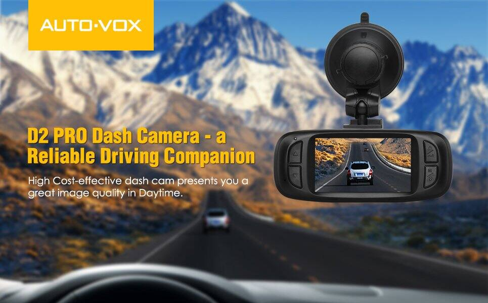 D2 PRO Night Vision Dash Cam for $38.49 AC on Amazon