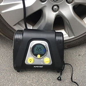 Automatic 12V Portable Digital Air Compressor with Auto-Off for $28.07 AC on Amazon