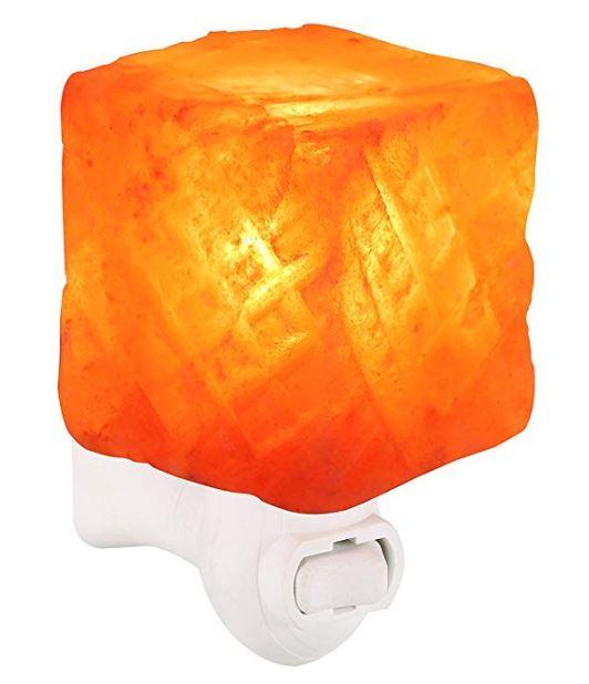 Himalayan Salt Lamp Night Light for $9.79 AC on Amazon