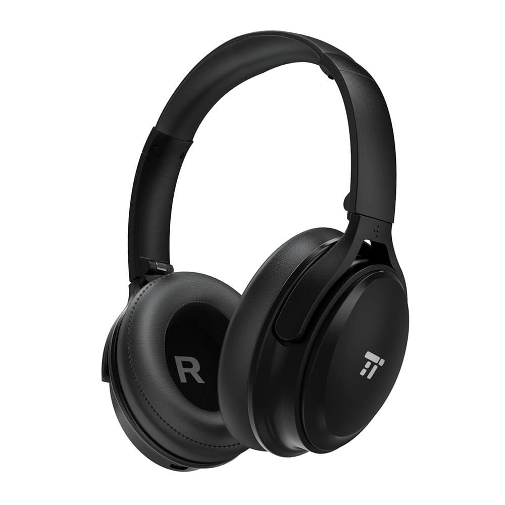 3861f9bf258 TaoTronics Active Noise Cancelling Bluetooth Headphones, $37 AC at amazon  with free shipping