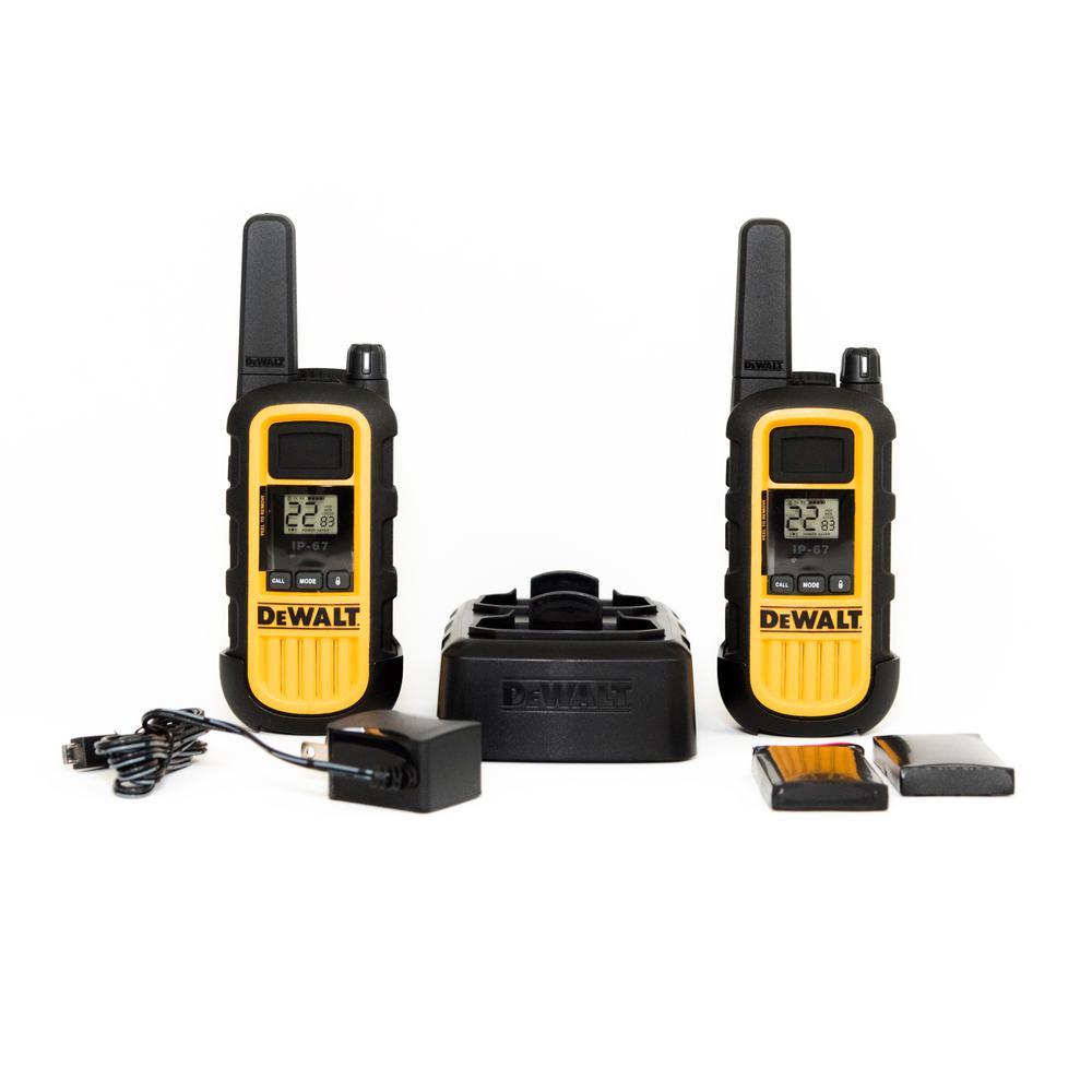 DEWALT DXFRS300 walkie-talkies (set of 2) Home Depot YMMV $25
