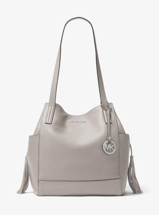 2e309a482688 Michael Kors Ashbury Large Leather Shoulder Bag  111 + FS ...