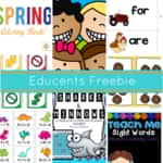 $78 in Free Activities and Worksheets for Kids Today!