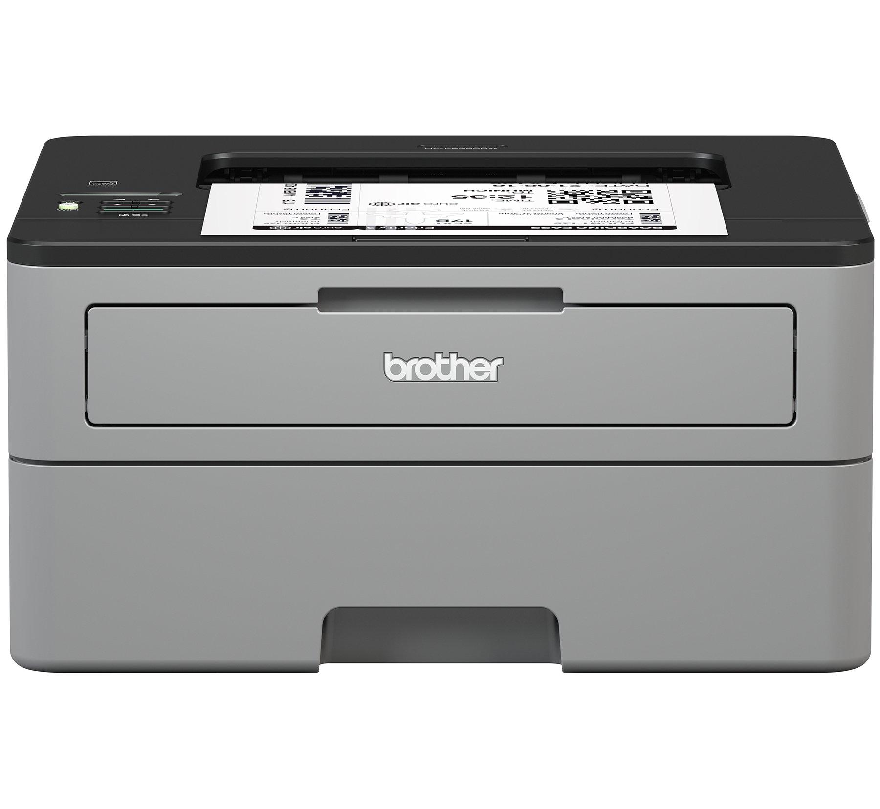 Brother HL-L2350DW  Monochrome Wireless Duplex Laser Printer Refurbished $79.99 + free  ground shipping