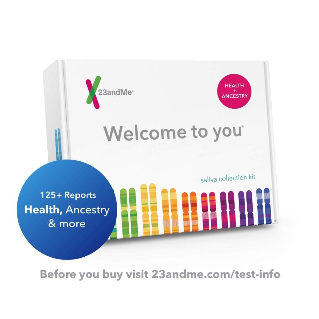 23andMe DNA Test - Health + Ancestry Kit - $99.99